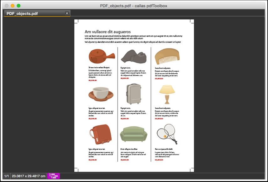 Erneut die Original-PDF-Datei in pdfToolbox öffnen (Datei > Öffnen)