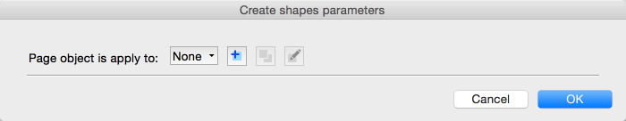Parameters for shapes based on existing vector paths