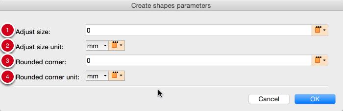 Parameters for shapes based on MediaBox, CropBox, BleedBox, TrimBox, ArtBox