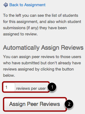 Another Option: Automatically Assign Reviews