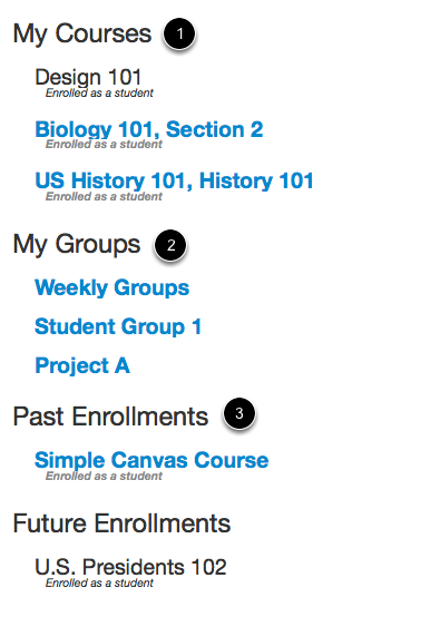 View Course Categories