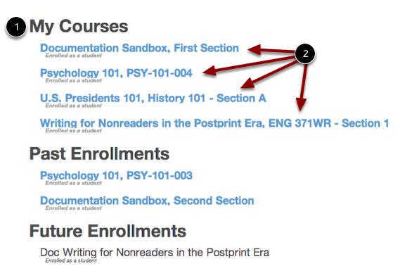 Mis cursos