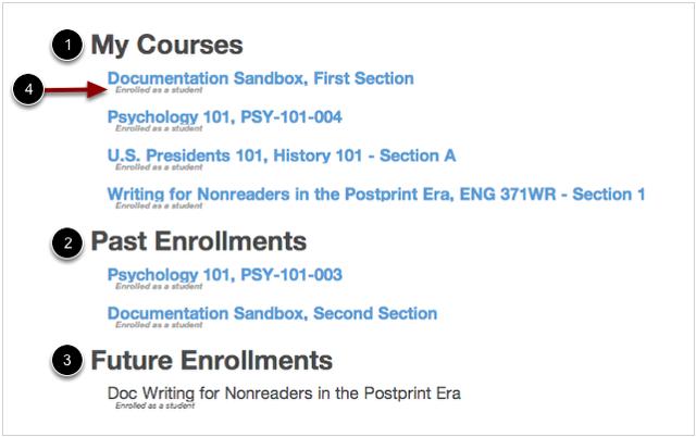 Categorías de cursos