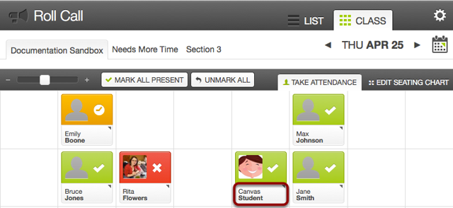 Use Class View to Manage Badges