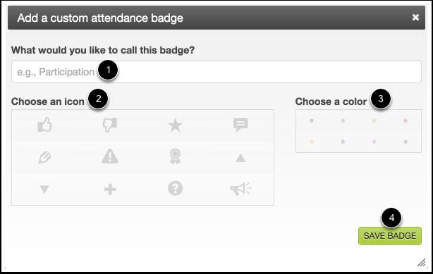Create a New Badge