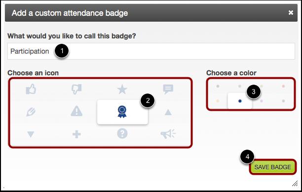 Edit Badge Details