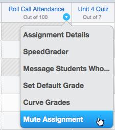 Mute Attendance Assignment