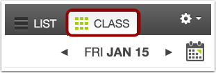 Open Class Tab