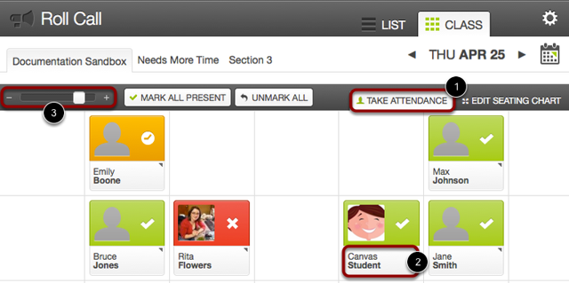 Manage Attendance and Badges from Seating Chart