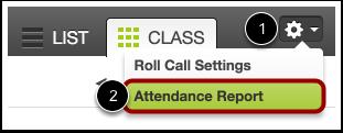 Open Attendance Reports