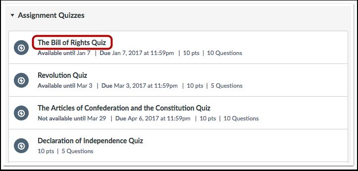 Abrir la evaluación