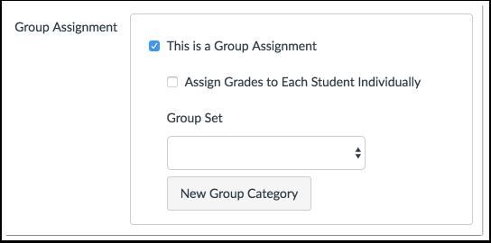 Crear tarea en grupo