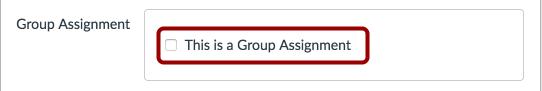 Seleccionar tarea del grupo