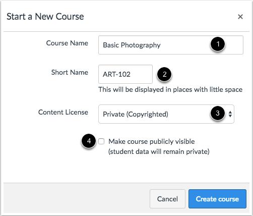Agregar detalles del curso