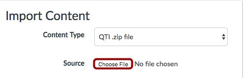 Escoger archivo