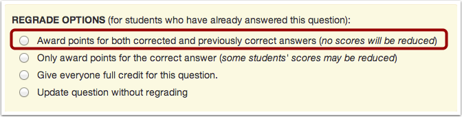 Award Points for Both Answers