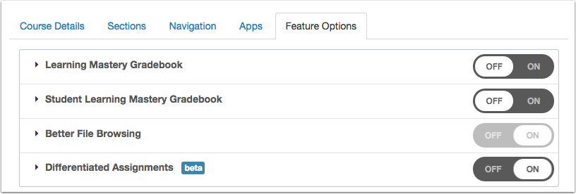 View Feature Access
