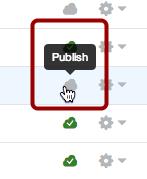 Publish a Page