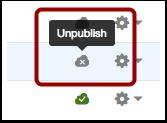 Unpublish a Page