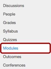 Open Modules