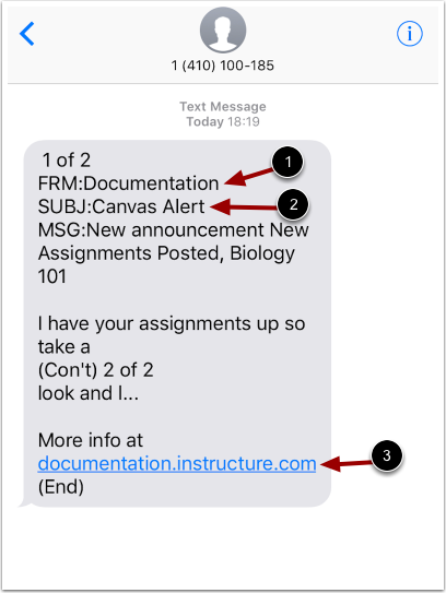 View Notification