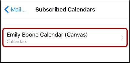 Open Canvas Calendar