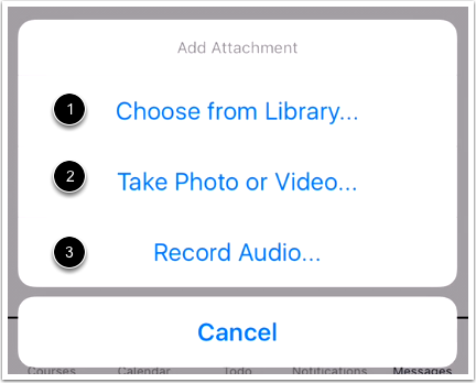 Select Attachment Type