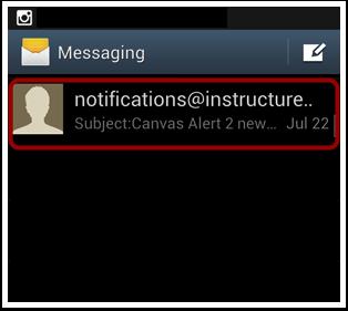 Open Notification