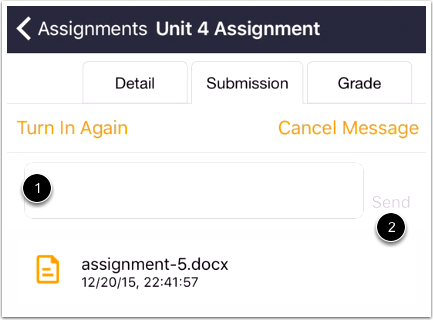Submit Text Comment