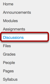 How do I access Discussions?