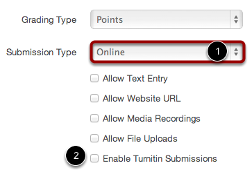 Enable Turnitin