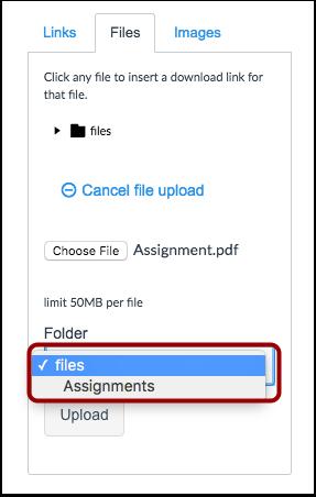 Choose a File Folder