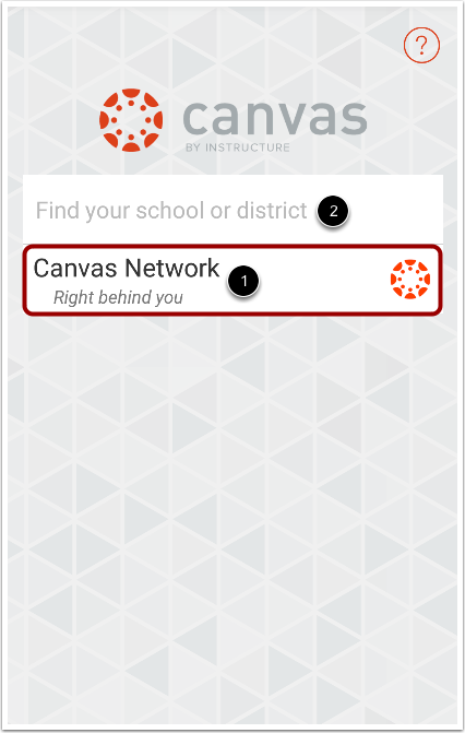 Locate Canvas Network or Free-for-Teacher Accounts