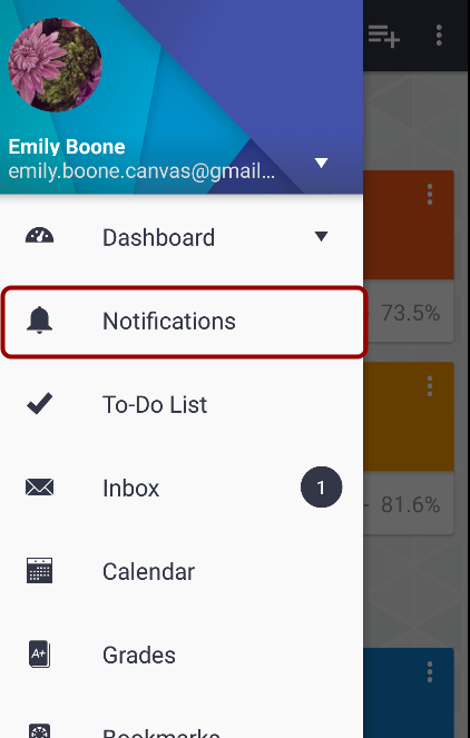 View Notifications