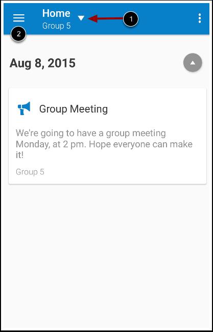 View Group Navigation