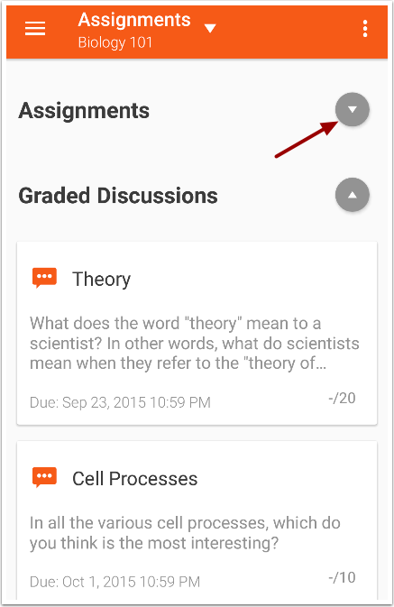 View Assignments