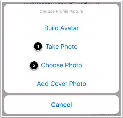 Choose Photo Type