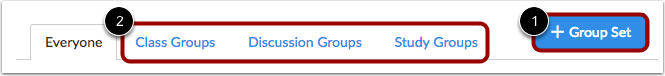 Assign in Group Set
