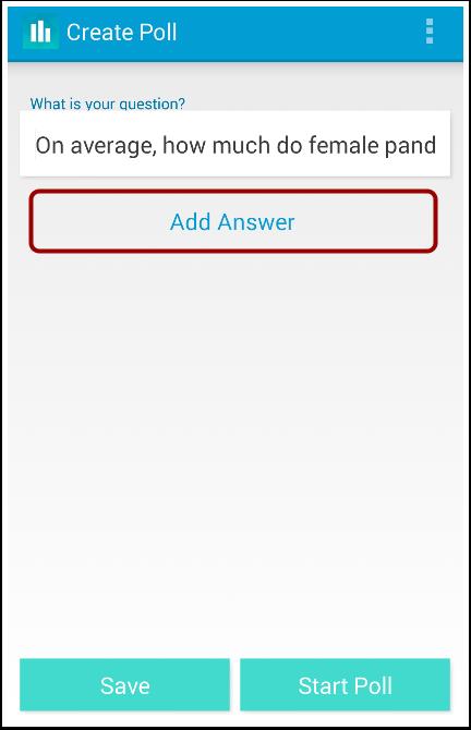 Create Answers
