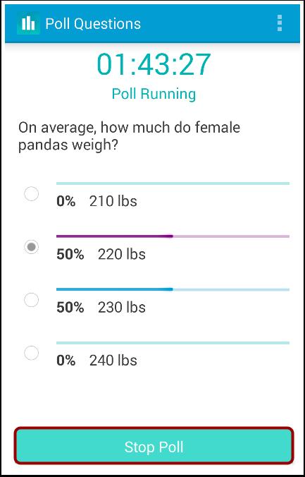 Stop Poll