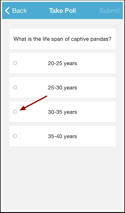 Select Answer