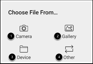 Choose File Location
