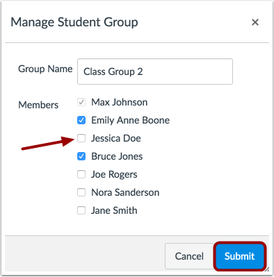 Add or Remove Group Members
