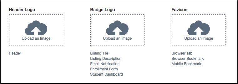Add Logo/Favicon Image