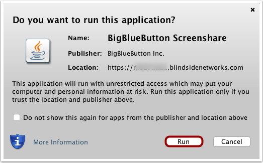 Run Java File