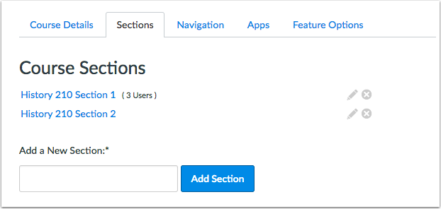 Canvas Course Section Dates