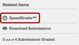 Open SpeedGrader™