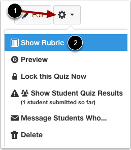 Show Assignment Rubric