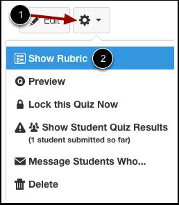 Show Rubric