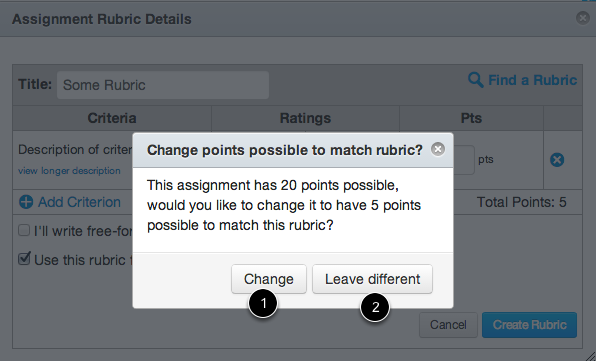 Use Rubric for Grading